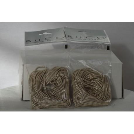 Bouillon Draht silber