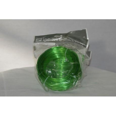 Aluminium Draht grün 1mm