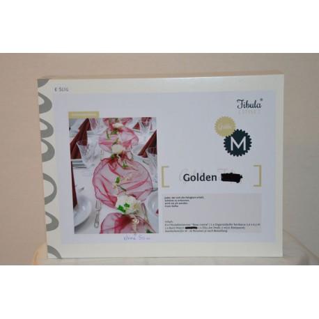 Golden Tischgesteck