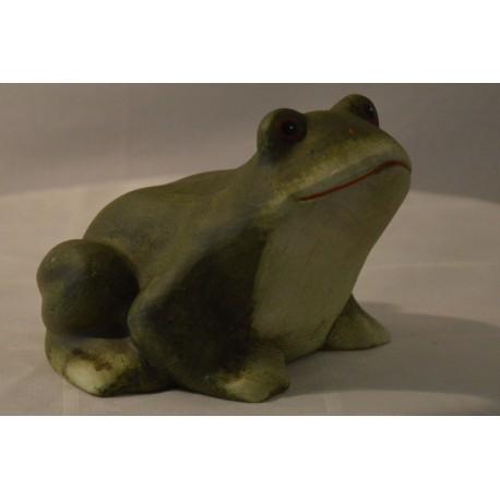 Keramik-Frosch matt groß