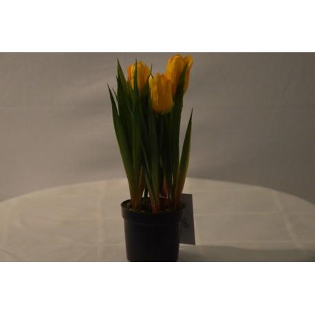Kunstblume gelb