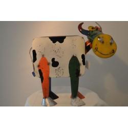 große Blech Kuh