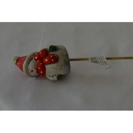 Blumenstecker Weihnachtsmann