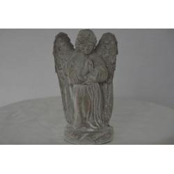 betender Engel grau