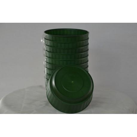 Gesteckschale Grün 145mm