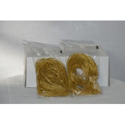 Bouillon Draht gold