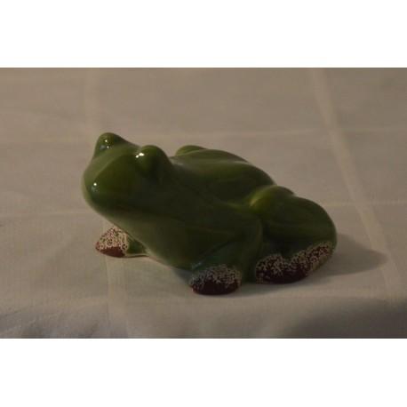 Keramik-Frosch glänzend klein