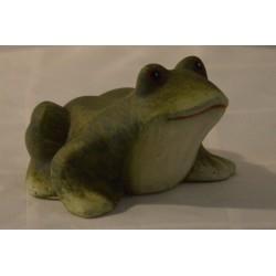 Keramik-Frosch matt klein