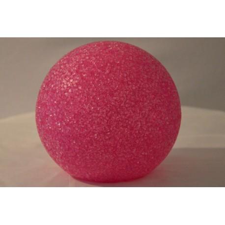 LED Kugel pink groß