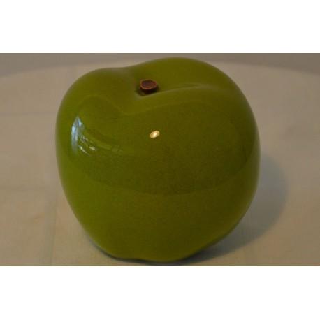 Keramik Apfel grün