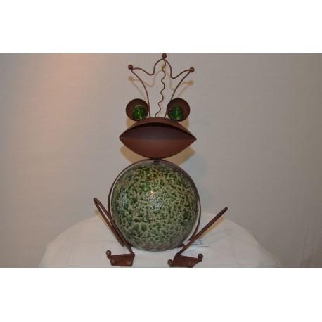Blech Frosch Keramikkugel
