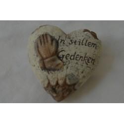 Herz mit Spruch klein