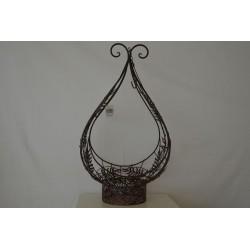 Eisen Vase groß