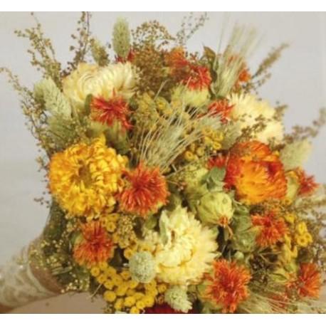 Trockenblumen Strauß 10