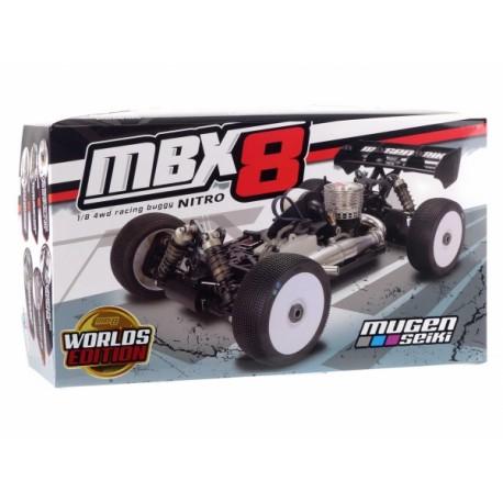Mugen Seiki mbx8 Worlds Edition