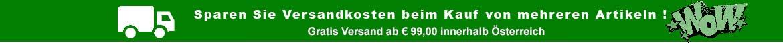 Sparen Sie Versandkosten beim Kauf von mehreren Artikeln ! Ab 99.99 € Gratis Versand innerhalb Österreichs